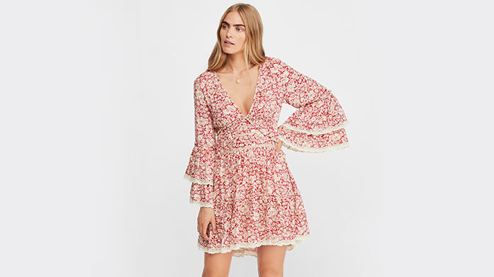 New Free People Be your best bohemian self in dreamy designs by Free People. There's Eastern inspired puff sleeve tops, loafers and more.