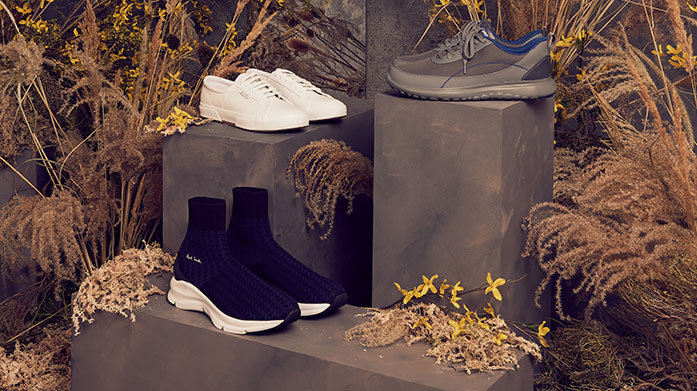 Statement Shoes For Him Up your shoe game with luxury loafers, ankle boots, slippers and more for him, courtesy of Geox, Hudson London, Oliver Sweeney and friends...