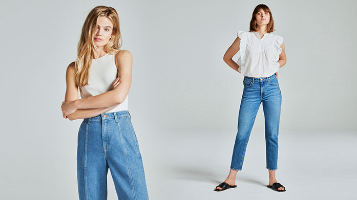 New! Lee Jeans Womenswear Elevate your wardrobe classics in our debut sale with Lee Jeans. Shop Ivy skinny jeans, stylish Breese flares, versatile denim jackets and plenty more to inspire and tempt. Jeans from £39.