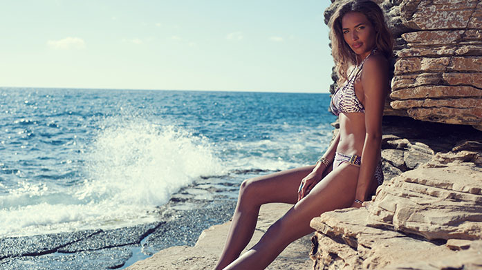 Vitamin Sea Edit Whether for garden sunbathing or a trip to the exotic, our luxury swimwear edit includes beautiful one pieces and coordinated bikinis from Eberjay, West Seventy Nine and more.