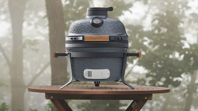 BergHOFF BBQ Start your summer of right with Berghoff's super modern portable BBQs and expert range of utensils and contemporary serving dishes.