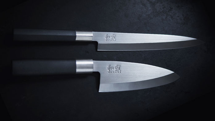 Kai Knives Handcrafted Japanese steel for exacting standards and chef like precision in your kitchen.