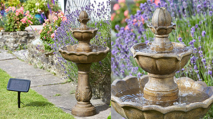 Solar Garden Water Features Bring tranqulity to your outdoor space with one of these stunning solar powered water features from Smart Garden.