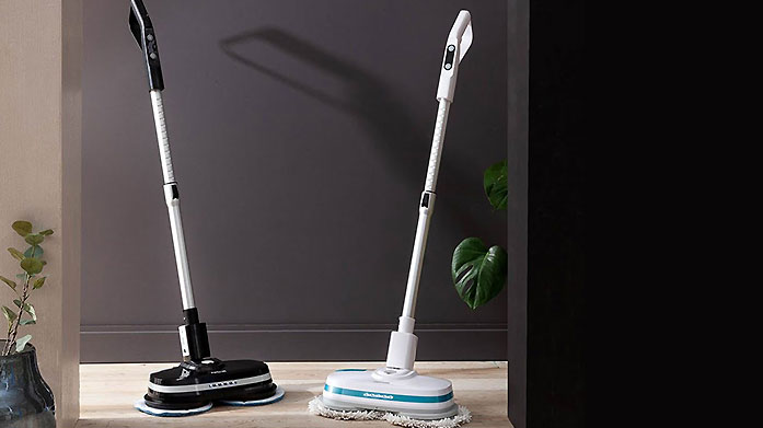 Aircraft PowerGlide Get excited for a spring clean with this powerful, cordless floor cleaner that'll shine and buff your floors to a professional standard.