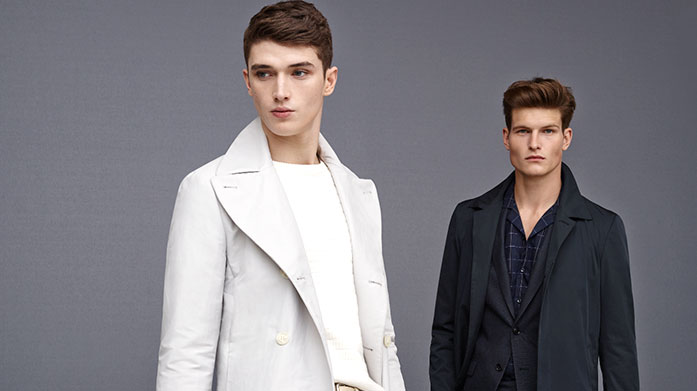 Reiss Menswear Adopt the Reiss look with suiting, outerwear, casual weekend tops and seasonal knitwear. Knitwear from £25.