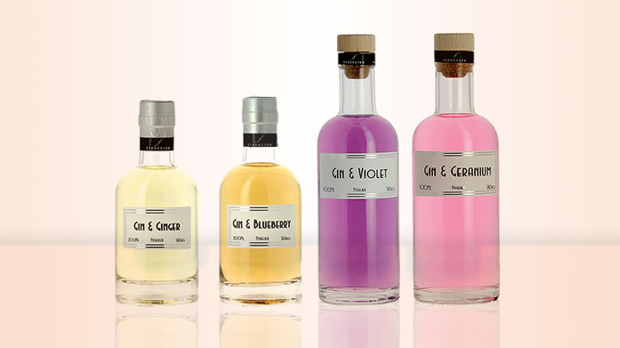 Fisselier Gins In complement of white wines, red wines, or as a base for cocktails, Fisselier's artisan liqueurs will add an extra edge to your alcoholic drinks.