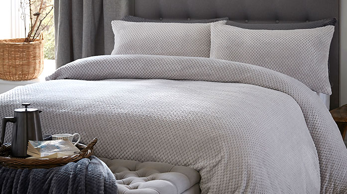 Silentnight Bed Linen Beautifully on trend designs for that perfect bedroom update. Choose from cosy checks, modern prints and sumptuous cotton rich linens.