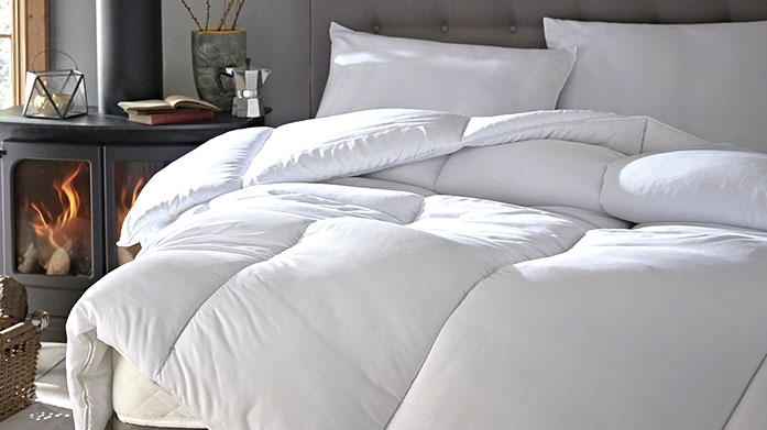 Silentnight Duvets, Pillows & Toppers The finishing touches to a great night's sleep: 10.5 tog duvets, duck feather pillows and memory foam mattress toppers by Silentnight.