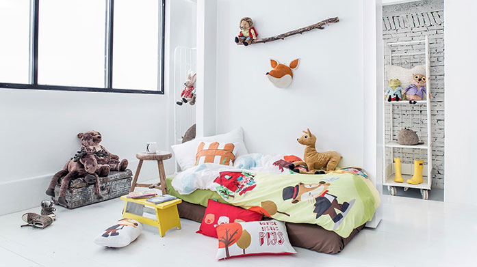 Mr Fox Kids Bedding