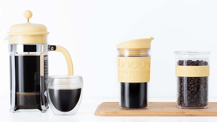 Bodum Bodum create kitchen essentials including insulated cups and cafetieres in minimalist designs.