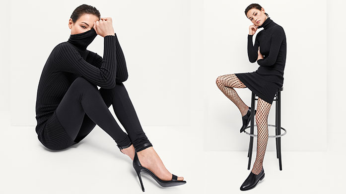 Wolford Discover Wolford's high-quality hosiery in this collection of elegant bodysuits, trousers, skirts and tights, crafted from luxurious fabrics.