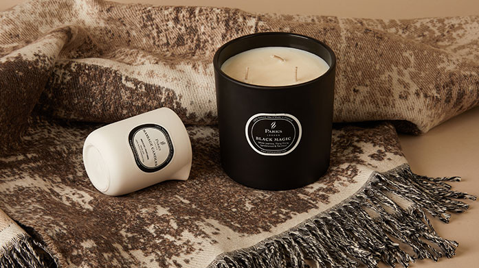 Heavenly Home Fragrance From fragrant scented candles to fresh scented diffusers, uplift your home with a most-wanted piece from Bahoma, Scandinavisk, Parks London and more