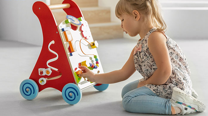 Lelin & Viga Toys Keep your little ones mind active with puzzles and games from Lelin & Viga. Discover push toys, stacking boards, educational sets and more.