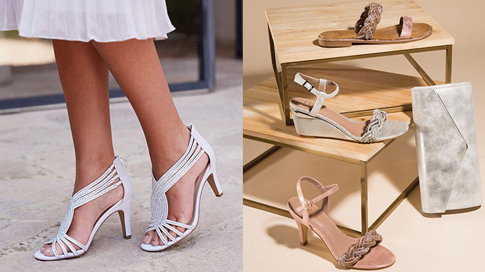 Lotus: Women's Shoes Step out in high style in a fresh pair of footwear from Lotus. With sandals, wedges and heels on offer, there's something to suit any warm-weather occasion.