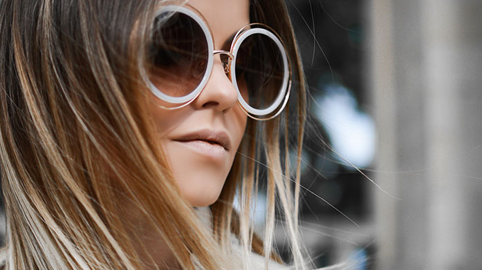 New In: Chloe Sunglasses Show off your specs appeal with a pair of luxe sunglasses courtesy of Chloe. With rounded frames, aviator sunglasses and more, they're the perfect choice for the sunny days ahead.