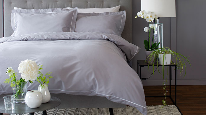 The Lyndon Company Bedding The Lyndon Company create sophisticated, classic bedding with a contemporary twist, from soft-toned duvet sets to white fitted sheets.