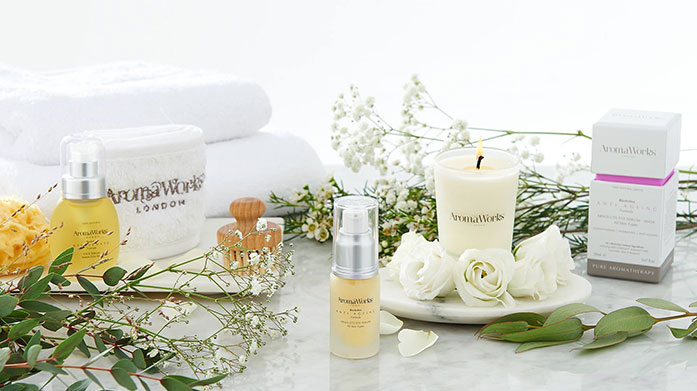 Aroma Works AromaWorks pride themselves on decadent beauty products that are cruelty free, vegan friendly and made from all natural, pure essential oils.