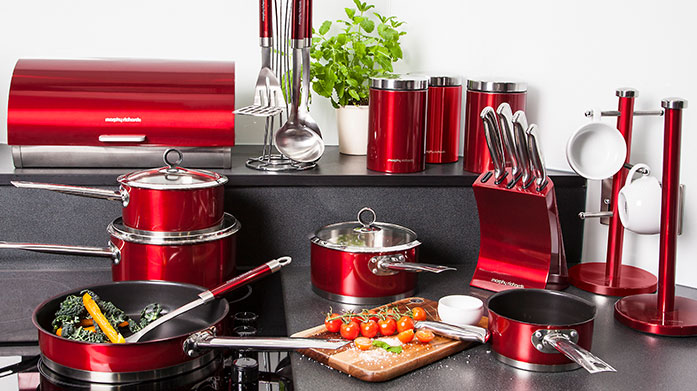 Morphy Richards Shop a brand you can trust with Morphy Richards' latest kitchen collection. There's toasters, pans, kettles, knife blocks, bins and more.