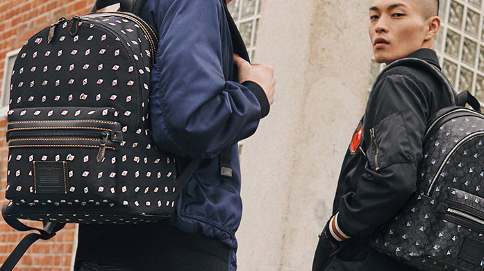 Weekend Style for Him Accessorise your weekend style with some great designer accessories. There's Coach backpacks, Tommy Hilfiger crossover bags and more.