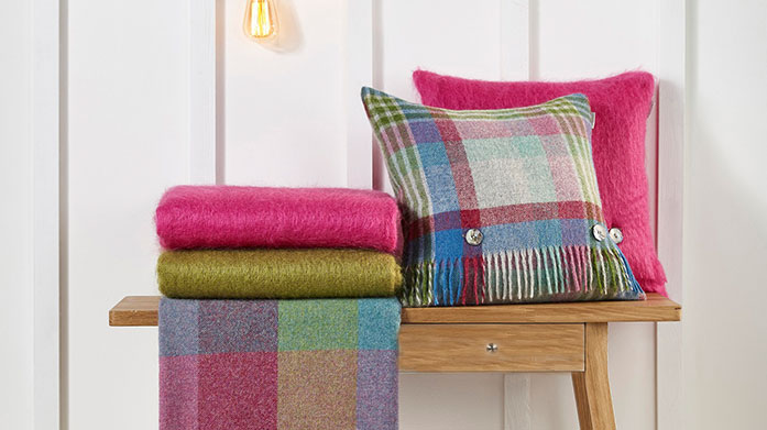 Bronte Throws & Cushions Traditional heritage patterns and the highest-quality softness meet to create this luxury collection of throws and cushions.