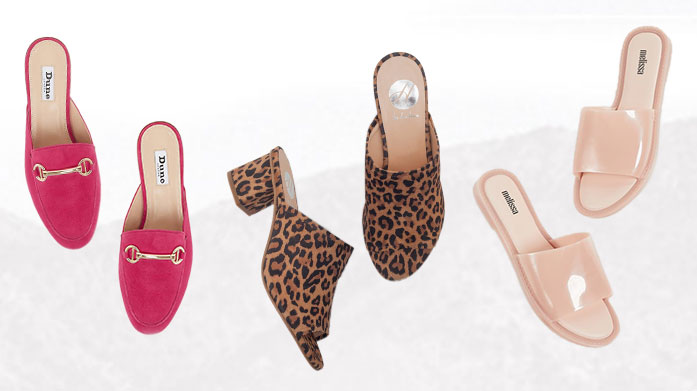 Summer Trend: Mules & Slides Every summer calls for new, cute shoes, especially mules & sliders- and this summer we have beauties from Melissa, FitFlop & Dune.