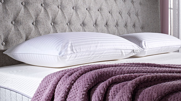 Dunlopillo Offering luxurious comfort with firm support, Dunlopillo's signature pillows will help you fall into a deep sleep.