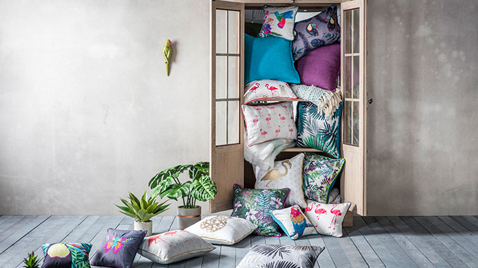Gallery Cushions Clearance Add a pop of colour and texture to your home furnishings with a selection of cushions by Gallery. While stock lasts!