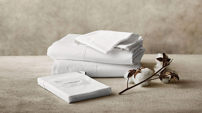 Sheridan Organic Cotton Linens Made from the finest organic cotton, Sheridan's super soft bed linen and towels make for a luxury, spa-worthy experience at home.