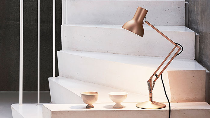 Anglepoise New stock just in! Discover sleek and functional lighting from British design pioneers, Anglepoise. Shop desk, floor and wall lamps.