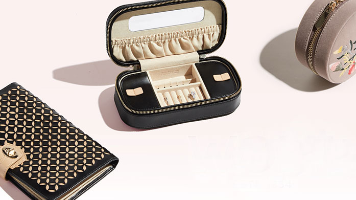 For The Luxury Traveller Store your valuables, jewellery and makeup in these stylish travel cases and boxes and pack a luxury cashmere eye mask and scarf for the flight!