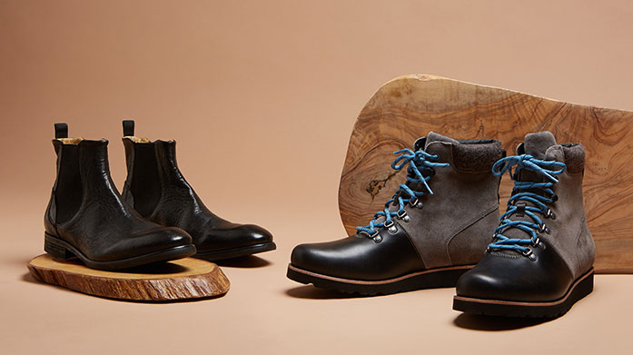 Men's Boot Edit Our men's mixed boot edit includes a range of versatile style for him from Dune London, UGG, KG Kurt Geiger and BALLY.