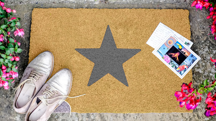 Artsy Doormats Bring some flair to your porch and show some personality with a quirky Artsy doormat. There's something for everyone!
