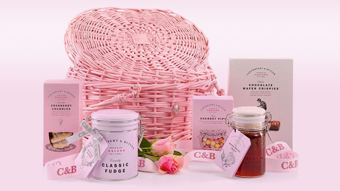 Cartwright & Butler Valentines Treat your Valentine to a selection of sweet treats from Cartwright & Butler's range of chocolates, biscuits and hampers.