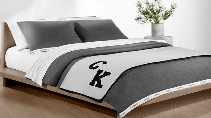 Calvin Klein Bed Linen & Towels  Invest in cosiness with bed linens and towels from Calvin Klein. Luxury for less, comfort is guaranteed with these homeware essentials.
