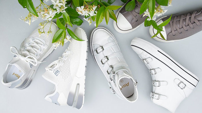 Sneak Into Spring: Women's Trainers Be prepared for outdoor adventures and step out in a vibrant, ultra comfortable pair of trainers for her. Shop retro, street and classic styles from Ash, Stuart Weitzman and more.