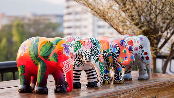 Elephant Parade Elephant Parade: creating a brighter future for elephant conservation and welfare one beautifully painted statue at a time.
