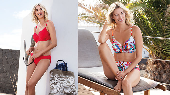 Fantasie Swimwear Feel confident on your summer holiday with Fantasie. Featuring gorgeous block colours and tropical florals, there's something for everyone.