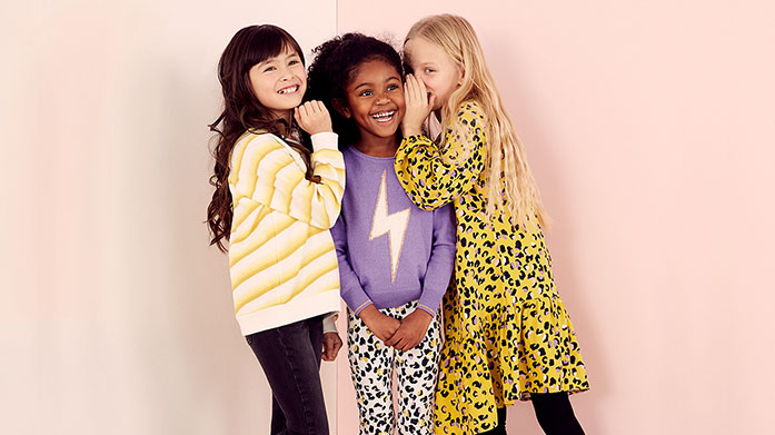 Mintie by Mint Velvet For girls aged 3-10, Mintie by Mint Velvet showcases gorgeous kidswear including fun sweatshirts, pretty pleated skirts and patterned blouse tops.