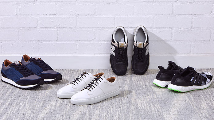 Sneaker Edit Men's Shop our latest collection of men's shoes, perfect for a summer wardrobe refresh. Sneakers by Adidas, New Balance and Versace.