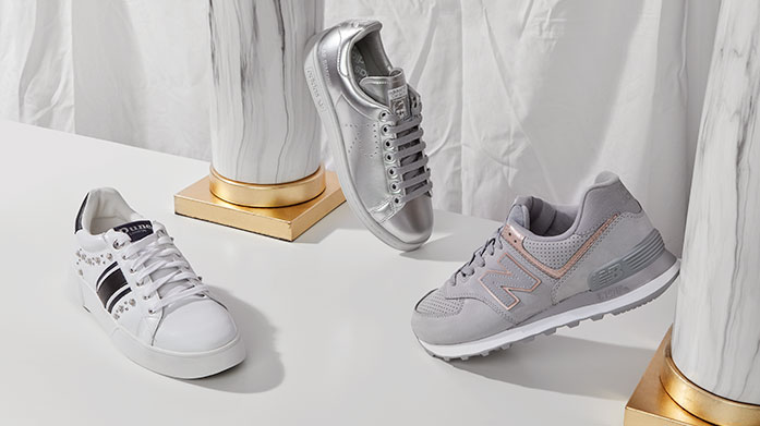 Sneaker Edit Women's Sneak on over to our edit of women's shoes and find yourself a trendy pair of trainers. Shop Dune, Carvela and Adidas.