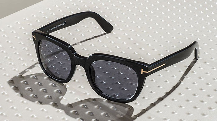Tom Ford Sunglasses for Him Protect your peepers whilst looking chic in seriously stylish sunglasses from the inimitable Tom Ford.