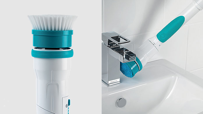 Buyer's Pick: Beldray Pro Scrubber This Beldray cordless scrubber is fantastic for cleaning multiple surfaces including glass, tiles, oven hobs and even car alloys- just ask our buyers!