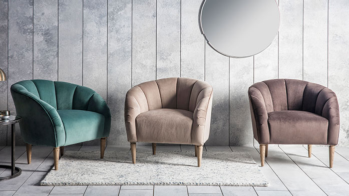 Statement Chairs by Gallery Discover a selection of chairs and seating for every space with this design-led range of impeccably stylish furniture.