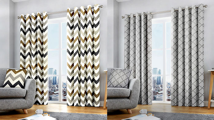 En Vogue Curtains: £89 & Under Update your home for autumn and drape your windows with a new pair of en-vogue curtains. There's a hue and pattern for every room.