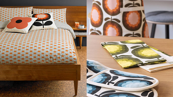 Orla Kiely Home & Gift Transform your home and life into a retro inspired masterpiece with a little help from Orla Kiely's signature printed gifts and homeware.