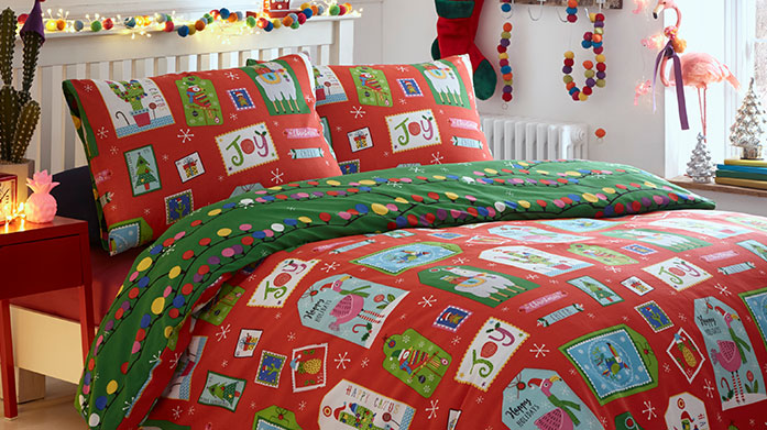 Countdown to Christmas The festive countdown is on! Get ready for the most wonderful time of the year with our collection of Christmas bedding.