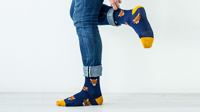 Gifts for Him: Wild Feet, Pringle & More Gift the men in your life a new pair (or three) of funky socks, slippers and underwear from Wild Feet, Pringle and Oliver Sweeney.