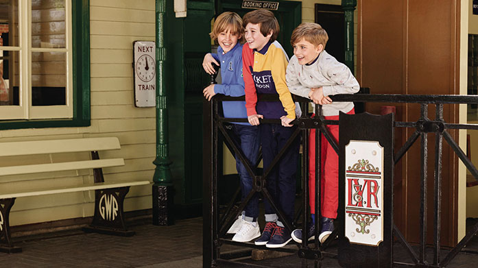 Hackett Boyswear Synonymous with luxury British style, Hackett London boyswear is a playful adaptation of their illustrious men's collection.