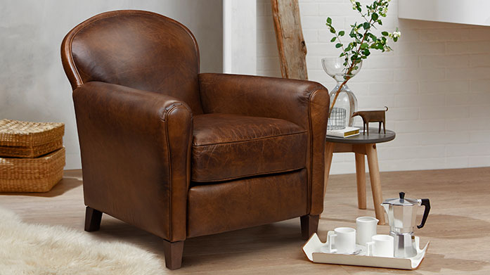 The Great Chair Company  Create a wonderfully cosy atmosphere at home with a leather armchair, upholstered ottoman or luxe velvet sofa by The Great Chair Company.