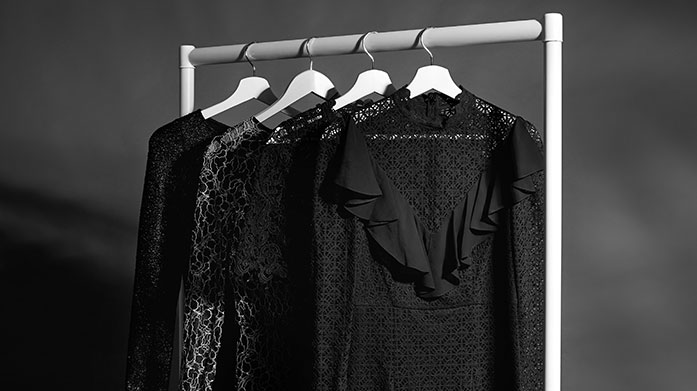 Witch, Please Outfits Witch, please. Opt for a spooktacular outfit this Halloween with a gothic-style lace dress, vamp leather jacket or all-black ensemble.